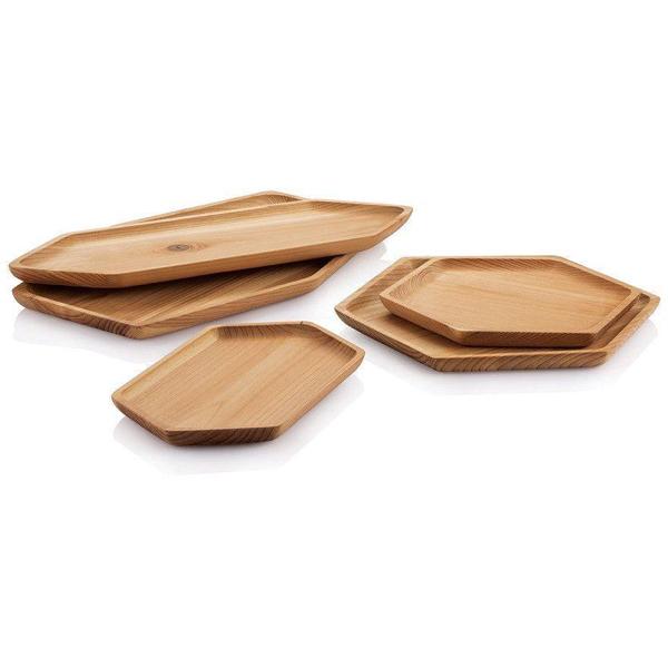 EarthHero - Upcycled Cedar Wood Serving Tray - 3