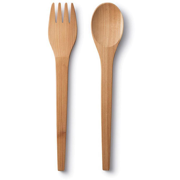 EarthHero - Upcycled Cedar Wood Serving Utensils - 1