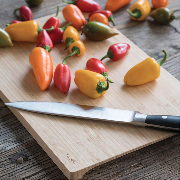 EarthHero - Undercut Bamboo Cutting Board - 3