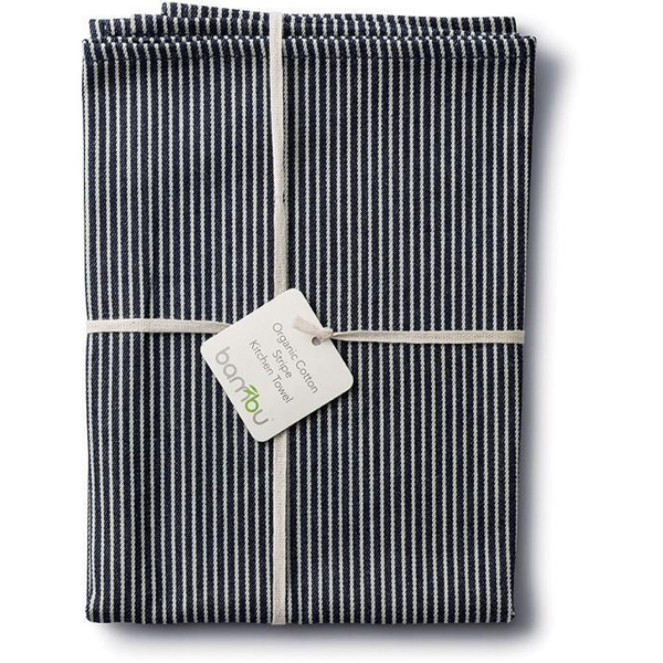EarthHero   Striped Organic Cotton Kitchen Towel   1