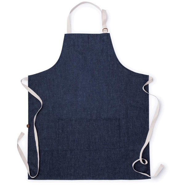 EarthHero - Denim Hemp Cooking Apron - 1