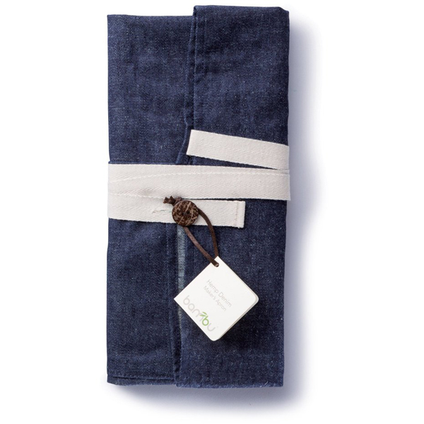 EarthHero - Denim Hemp Cooking Apron - 2