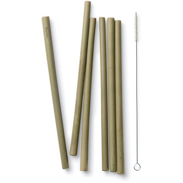 EarthHero - Bamboo Straws - 6pk - 1