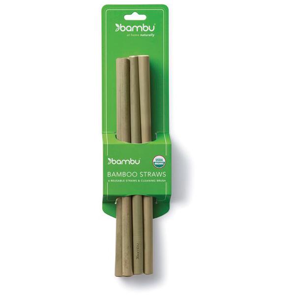 EarthHero - Bamboo Straws - 6pk - 2