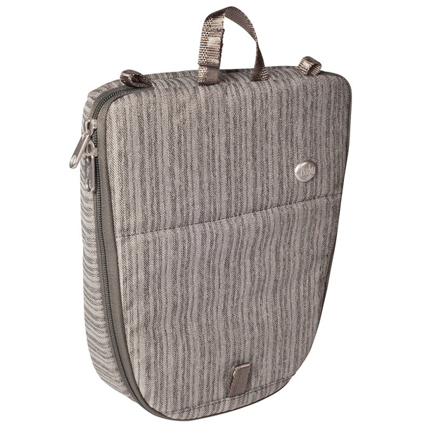 EarthHero - Artisan Makeup Bag - Gray Poplar