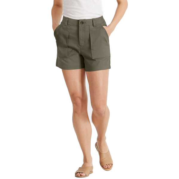 EarthHero - Womens Kush Travel Shorts Clove 1
