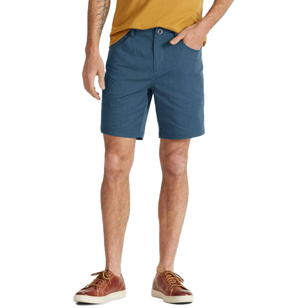 EarthHero - Men's Stretch Motil Drifter Hiking Shorts - Space Heather