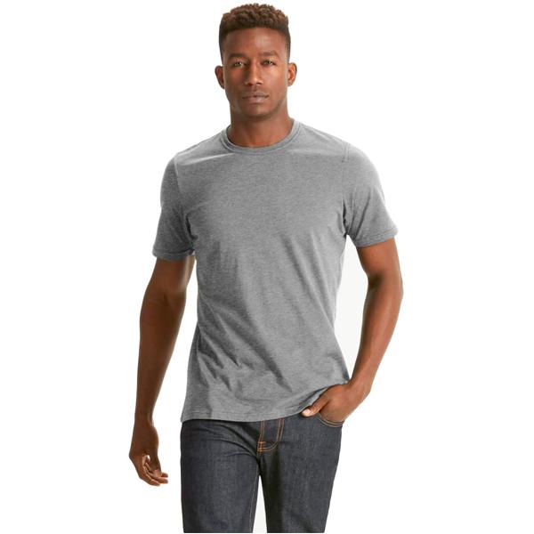 EarthHero - Men's Basis Organic Cotton T-Shirt - Charcoal Heather
