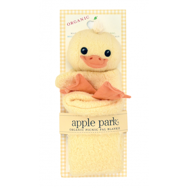 EarthHero - Ducky Picnic Pal Stuffed Animal Blanket 1