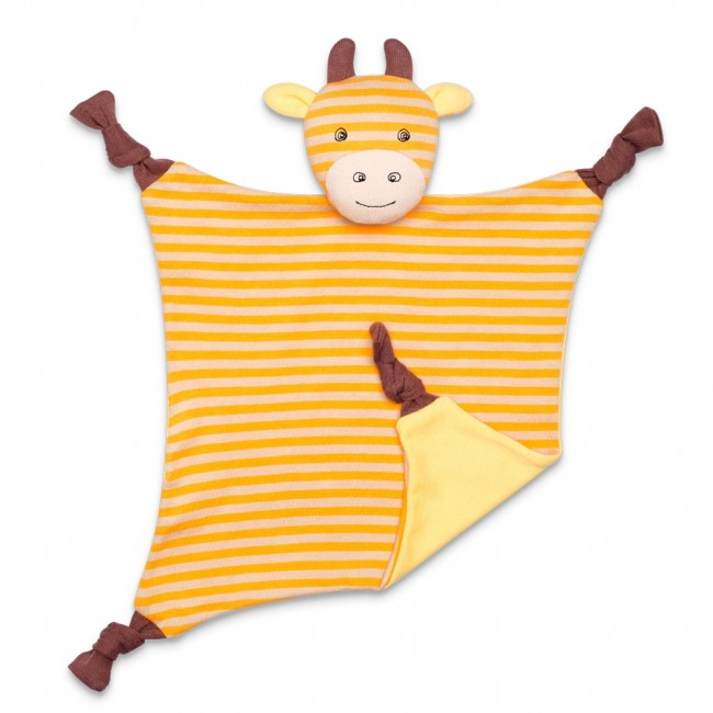 EarthHero - George Giraffe Picnic Pal Stuffed Animal Blanket 1