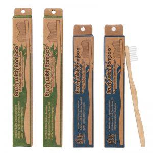 EarthHero - Brush With Bamboo Family Bamboo Toothbrush
