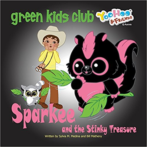 EarthHero - Sparkee and the Stinky Treasure - Children's Book