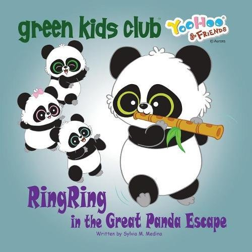 EarthHero - RingRing in the Great Panda Escape - Children's Book