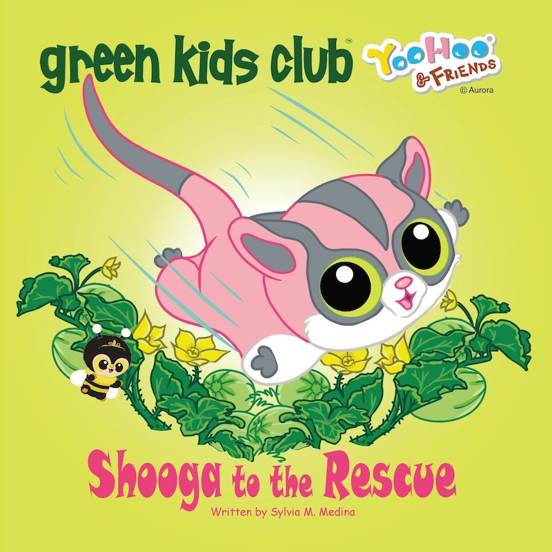 EarthHero - Shooga to the Rescue - Children's Book