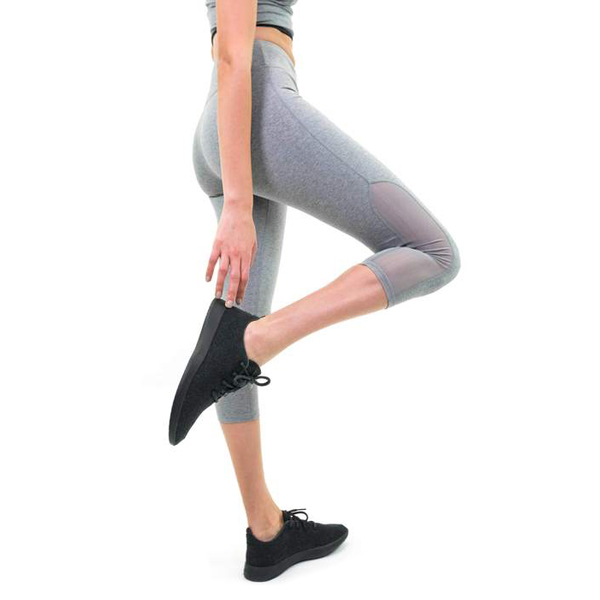 EarthHero - Tala Workout Capris - Heather Grey - Large