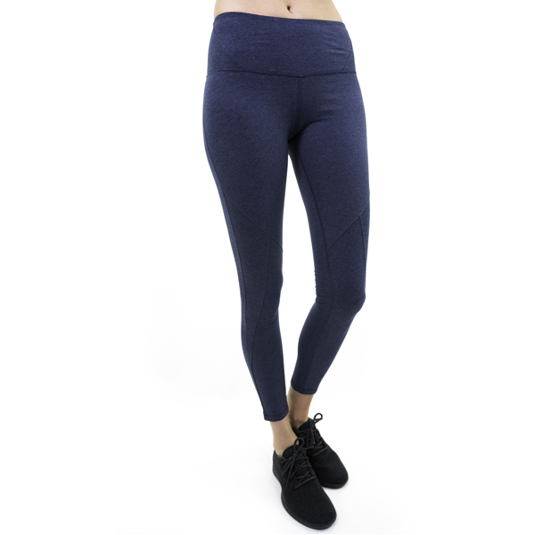 EarthHero - Tashi Yoga Legging - Blue Heather - Large