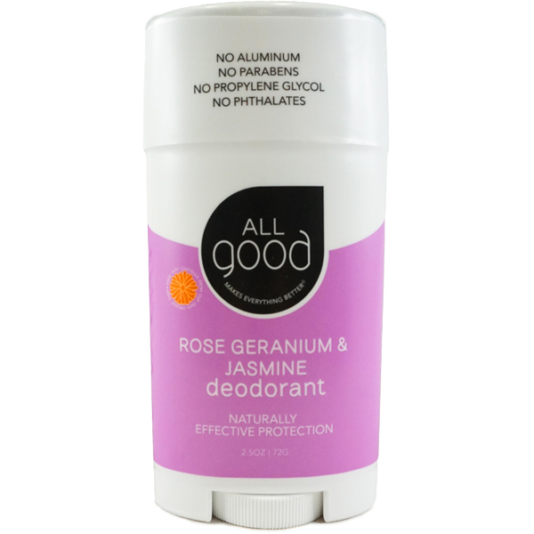 EarthHero - Rose Geranium & Jasmine Natural Deodorant