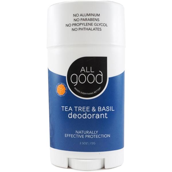 EarthHero - Tea Tree & Basil Natural Deodorant