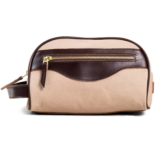 EarthHero - Travel Toiletry Bag - Tan