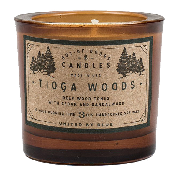 EarthHero - Tioga Woods Soy Candle - 3oz  - 1