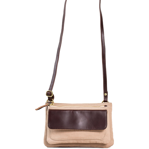 EarthHero - Hazel Crossbody Purse - Tan