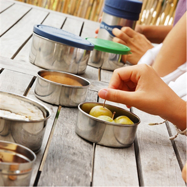 EarthHero - Stainless Steel Food Storage Container Nesting Trio - 3pk 2