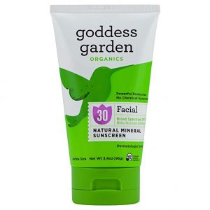 EarthHero - Goddess Garden Natural Facial Sunscreen SPF 30 - 3.4 oz