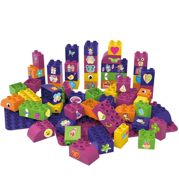 EarthHero - Biobased Building Blocks and Base - Pink - 1