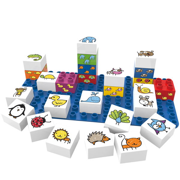 EarthHero - Animals Plant Based Baby Blocks - 1