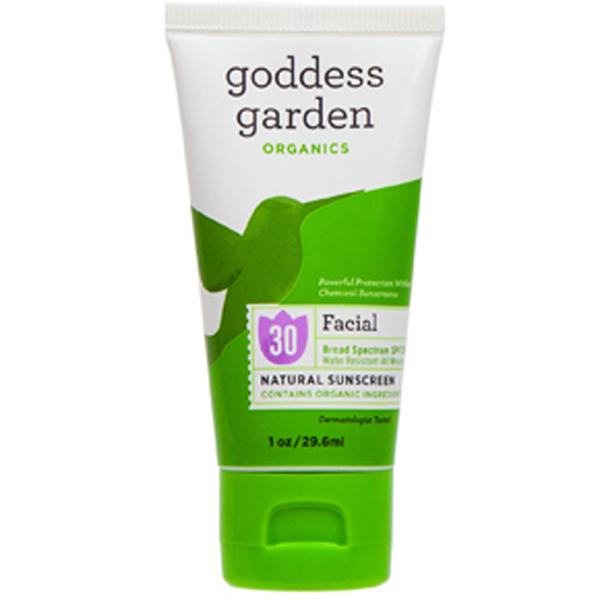 EarthHero - Goddess Garden Natural Facial Sunscreen SPF 30 - 3.4 oz