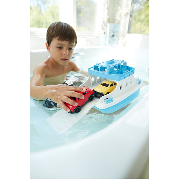 EarthHero - Ferry Boat Bath Toy Set - 3