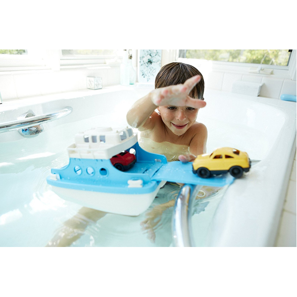EarthHero - Ferry Boat Bath Toy Set - 4