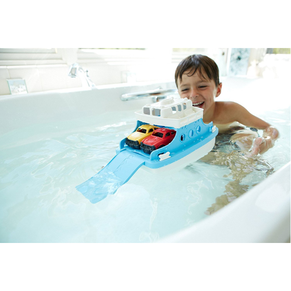 EarthHero - Ferry Boat Bath Toy Set - 5