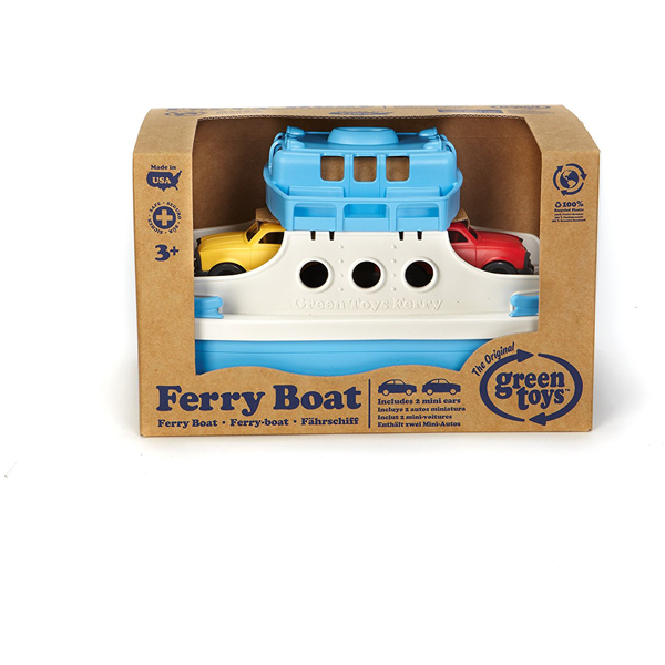 EarthHero - Ferry Boat Bath Toy Set - 2