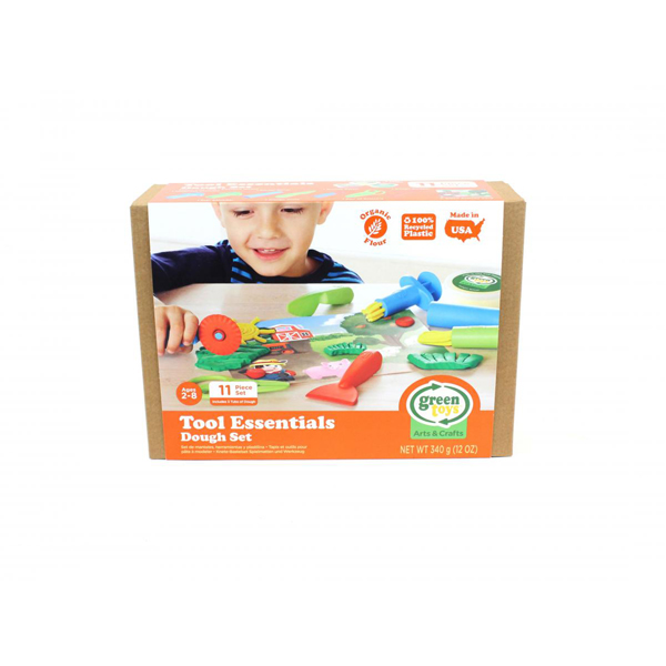 EarthHero - Tool Essentials Organic Playdough Set - 2