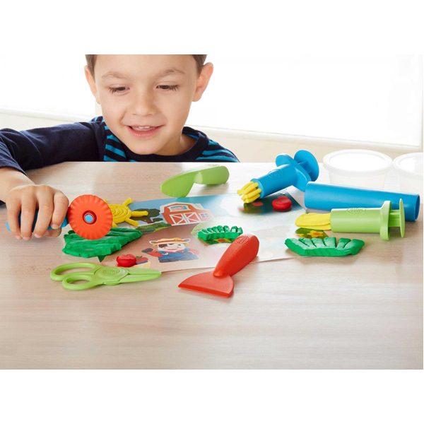 EarthHero - Tool Essentials Organic Playdough Set - 3