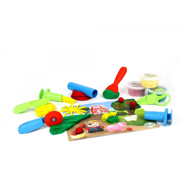 EarthHero - Tool Essentials Organic Playdough Set - 1