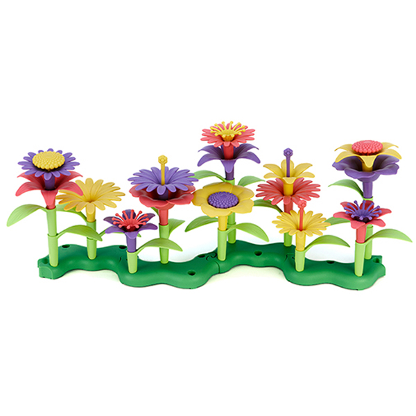 EarthHero - Green Toys Build-a-Bouquet Flower Set - 1