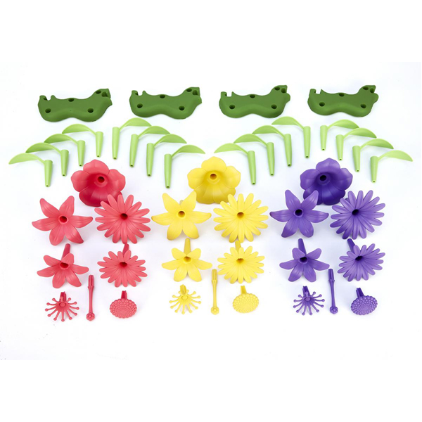 EarthHero - Green Toys Build-a-Bouquet Flower Set - 2
