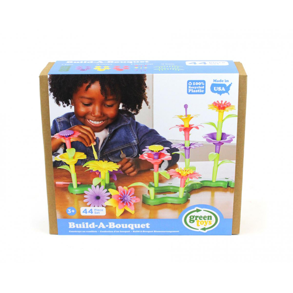 EarthHero - Green Toys Build-a-Bouquet Flower Set - 3