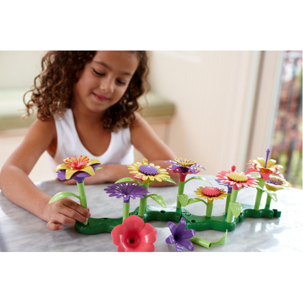 EarthHero - Green Toys Build-a-Bouquet Flower Set - 4