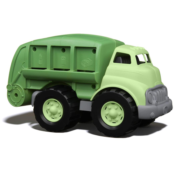 EarthHero - Green Recycling Truck Toy - 1