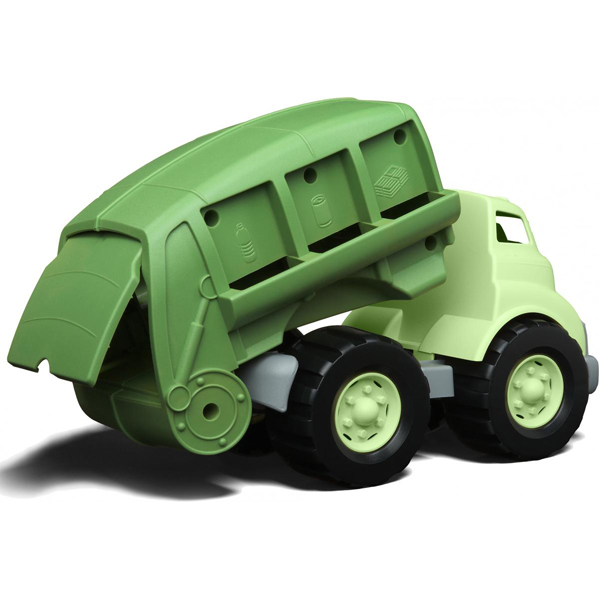 EarthHero - Green Recycling Truck Toy - 2