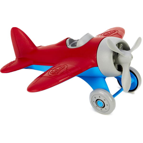 EarthHero - Green Toys Airplane  - Red