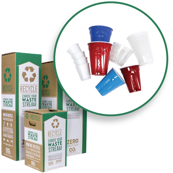 EarthHero - TerraCycle #6 Rigid Plastic Cups Zero Waste Box 1