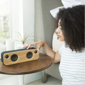 Upcycled Speaker | House of Marley | EarthHero | Sustainable Wedding Gifts