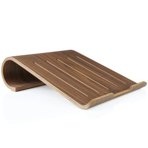 EarthHero - Walnut Wood Laptop Stand - 1