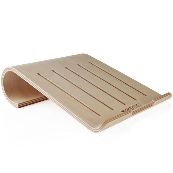 EarthHero - Birch Wood Laptop Stand - 1
