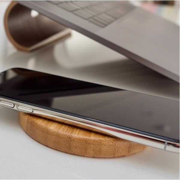 EarthHero - Bamboo Wireless Phone Charger - 5
