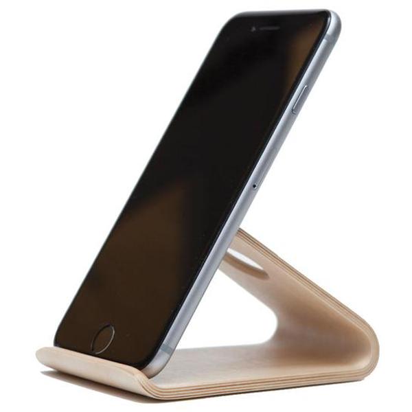 EarthHero - Bamboo Wood Smartphone Phone Stand - 2